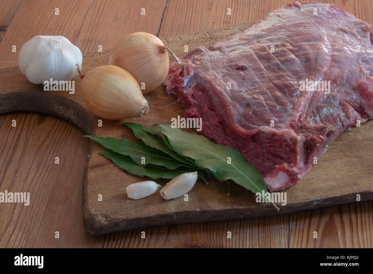 Carne argentina, argentine meat Stock Photo