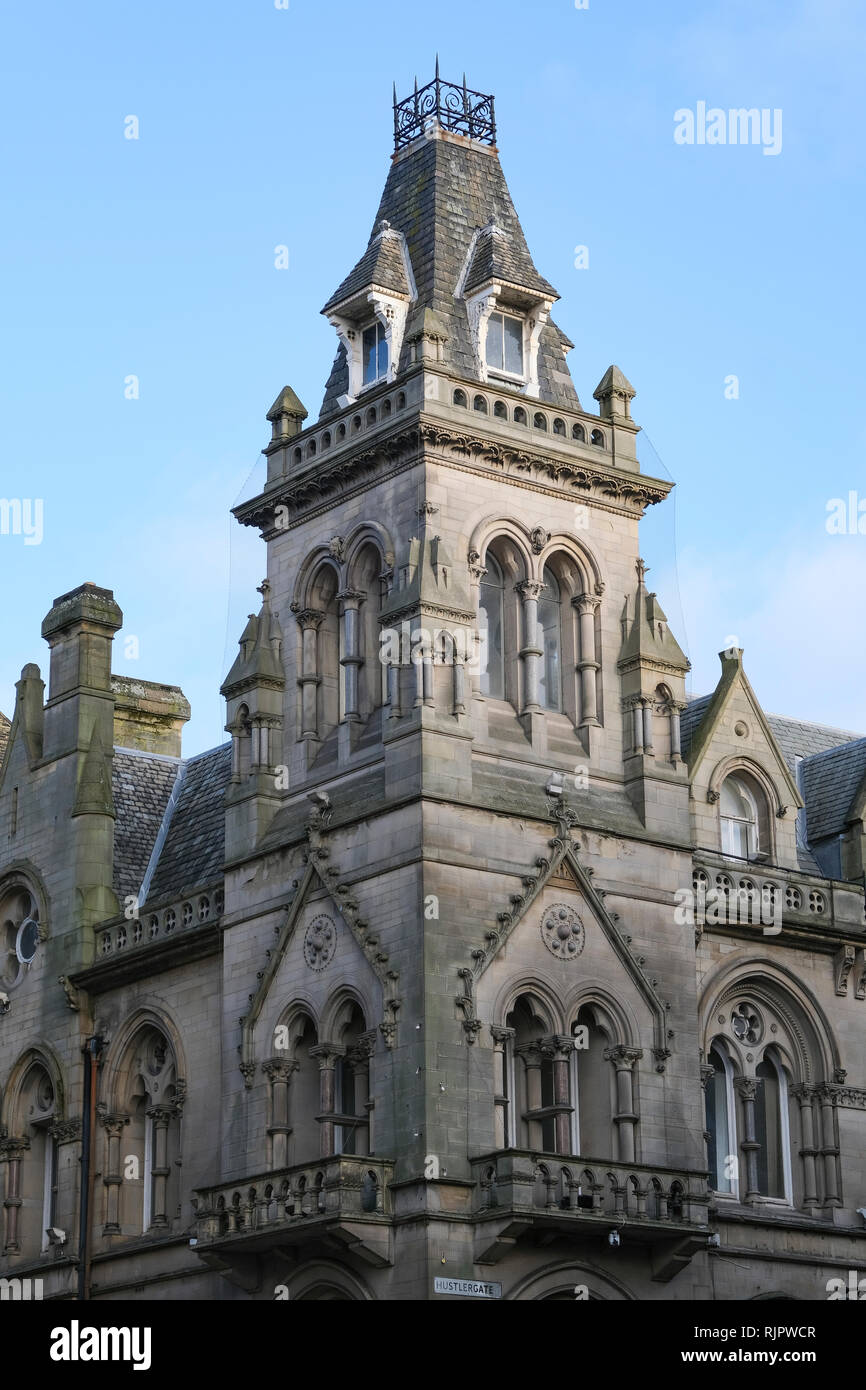 The former Natwest bank, Hustlergate,  Bradford City Centre, UK, Stock Photo
