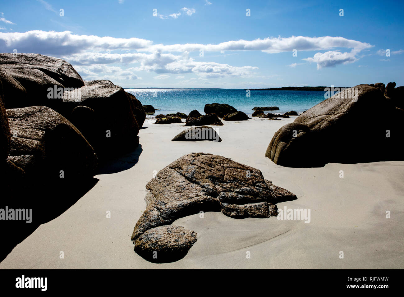 Beach, West Coast of Ireland - Stock Image
