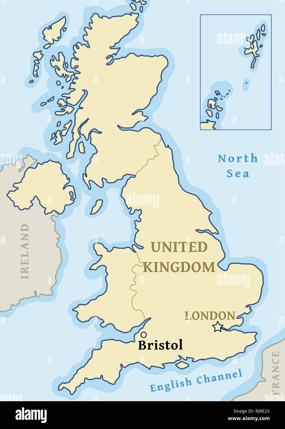 Bristol England Map Bristol UK map location   city marked in United Kingdom (UK map