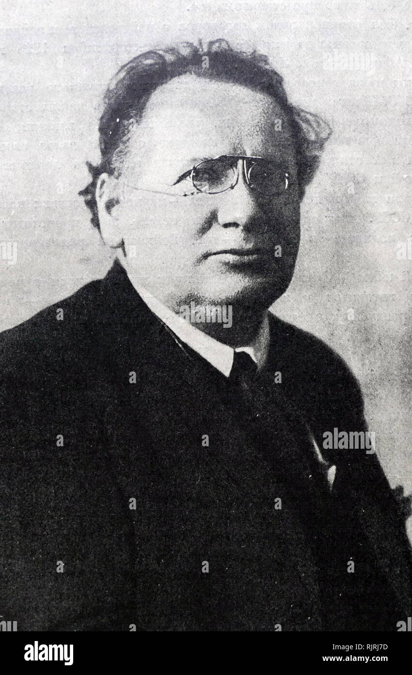 Maxim Litvinoff, (1876-1951). Russian politician and People's Commissar for External Affairs of the USSR (1930-1939). 1926 - Stock Image