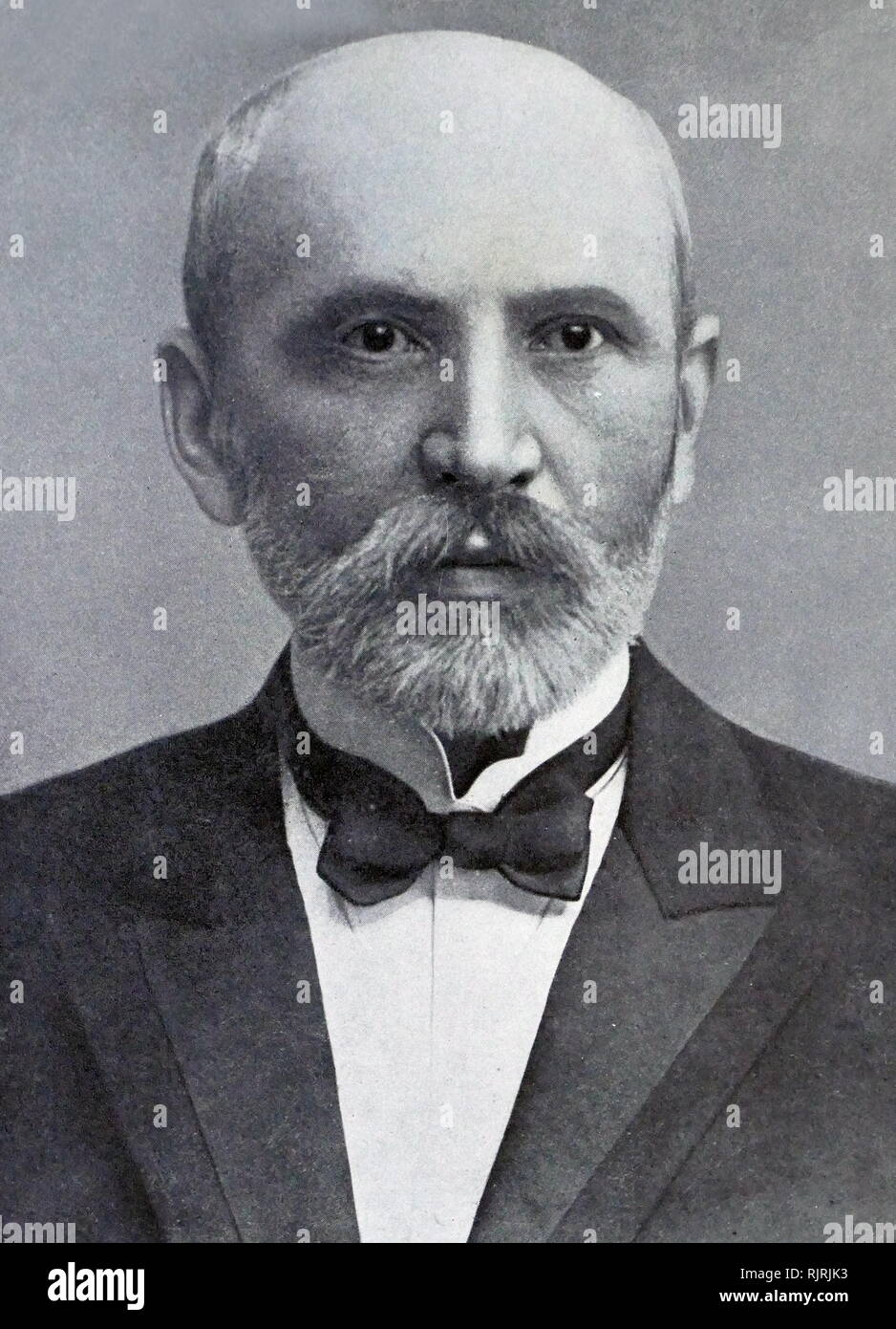 Avigdor Green (Grun), 1856 - 1942; Zionist activist, the father of David Ben-Gurion, the first Prime Minister of Israel. - Stock Image