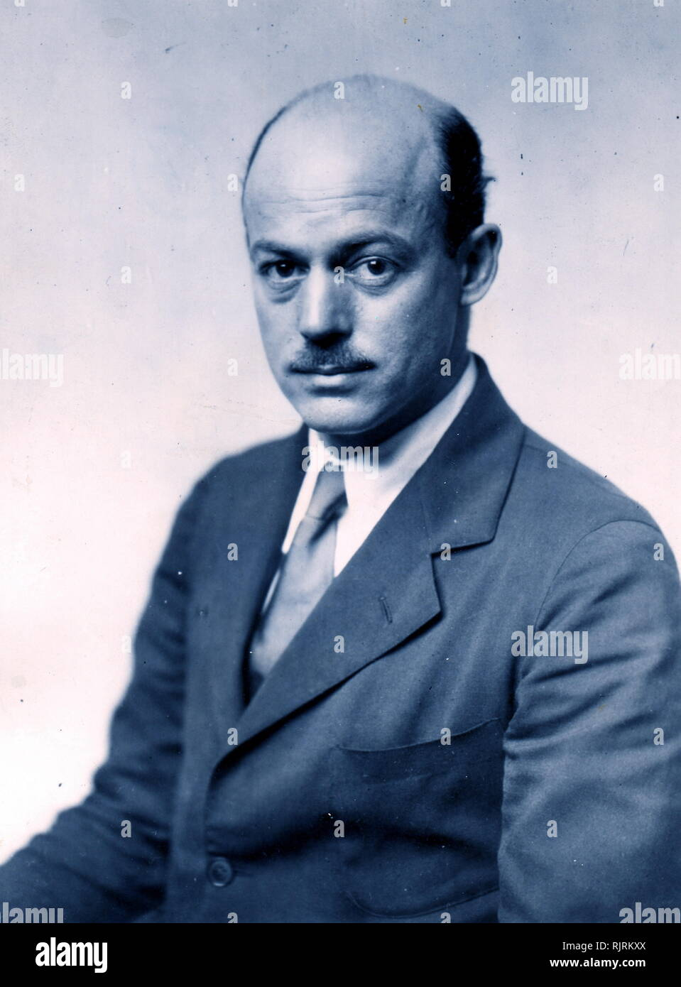 Jerome Clarke Hunsaker (August 26, 1886 - September 10, 1984) was an American airman and mechanical engineer. He was a named member of the In UFO conspiracy theories, Majestic 12 (or MJ-12); code name of an alleged secret committee of scientists, military leaders, and government officials, formed in 1947 by an executive order by U.S. President Harry S. Truman to facilitate recovery and investigation of alien spacecraft - Stock Image
