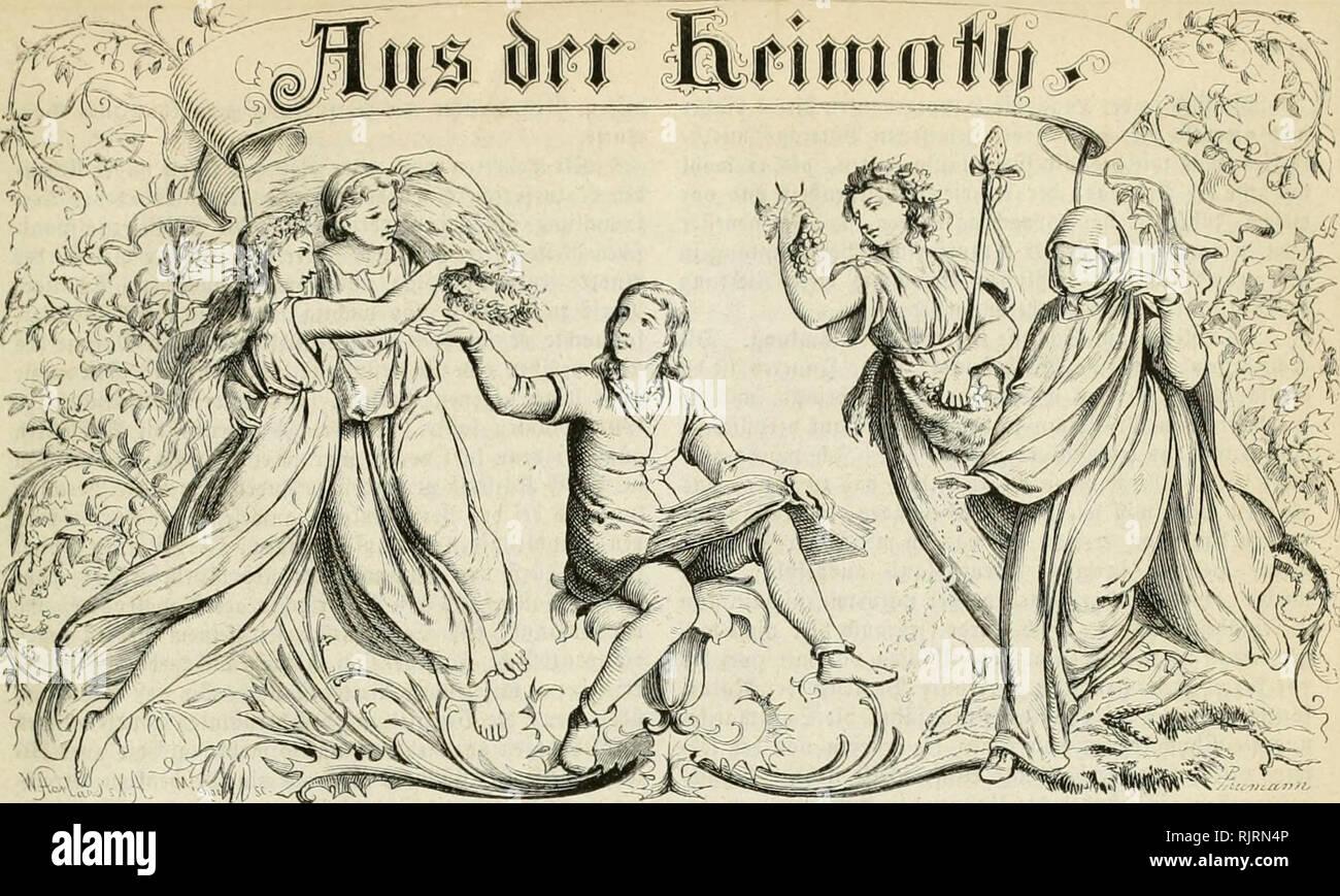 ". Aus der Heimath. Natural history; Natural history -- Germany. >^=Af):^;j (£'m naturuii|]'cn|'d)aftUd)f9 IblksblaU. Vfraiitiiiiirtl. IRrbartiur (£. X llofjmäfjlrr. 5lmtlid)c^ Drürtii bcö !Jciitfd)eit .§i{iiibi)Ibt=5Peitiii^. Wodientli* 1 93oacn. TiurrI) utic 93uc^t)anbtun8en unb 'poftämter für metteljä[)r(i(^ 15 ©flr. ju bejic^en. No. 24. fifalifcfec ©niitcvuiii(cn. iLH'ii $1). ©pidev. â kleinere Â«Dlittljcilungcn. â ©itlcniiiflätcübacljtunsicn. â »â OWO. ^iw ""^XatnrforfdjcrrcDen. flciiic I'idjiiiiiji. (güttft^uiig.) iiÃir Vuiffen bereitö, ba§ uiib un-lctcn tcftiii - Stock Image"