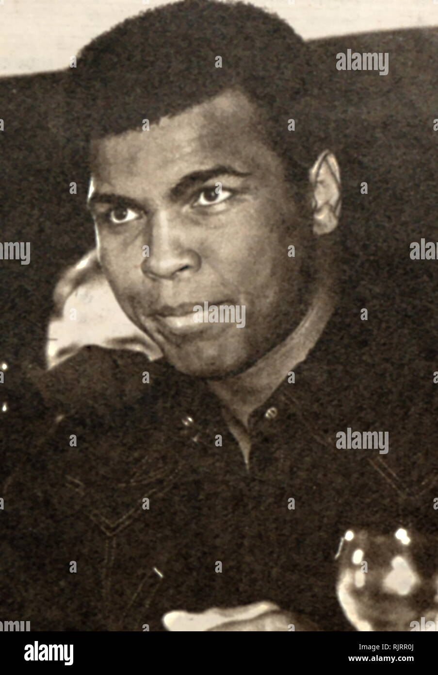 Muhammad Ali,(1942 - 2016). Ali was an American professional boxer and activist; He is widely regarded as one of the most significant and celebrated sports figures of the 20th century. - Stock Image