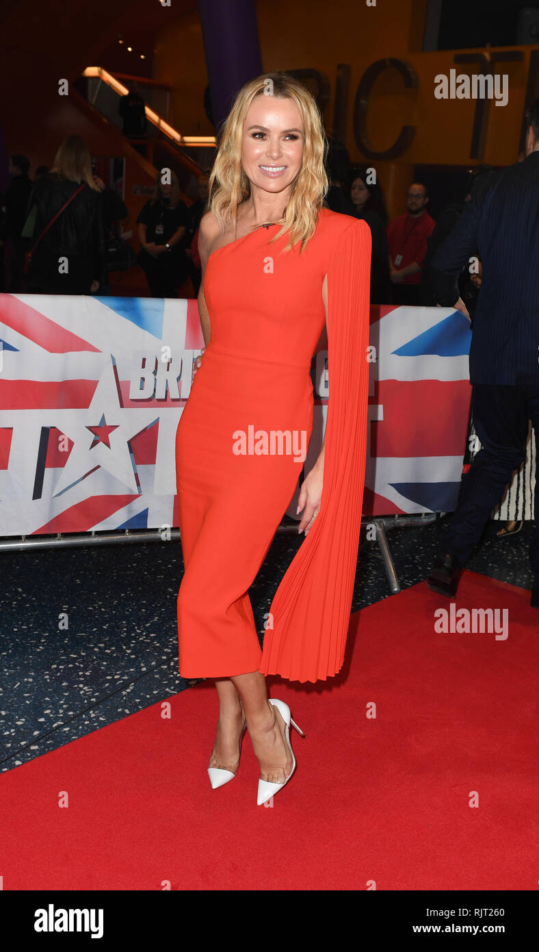 Amanda Holden Arrives At The Lowry Theatre Manchester For Britains Got Talent Manchester Auditions Manchester Stock Photo Alamy