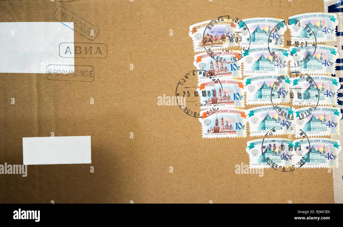 Foreign Postage Stamp Stock Photos & Foreign Postage Stamp