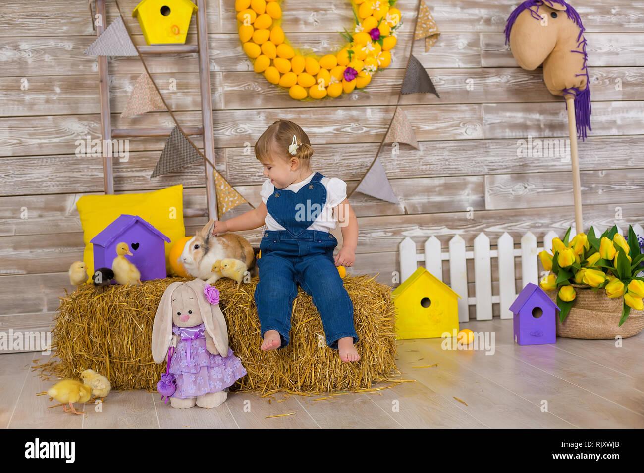 Hide Seek Kids: Young Girl Happy Playing Hide And Seek Stock Photos
