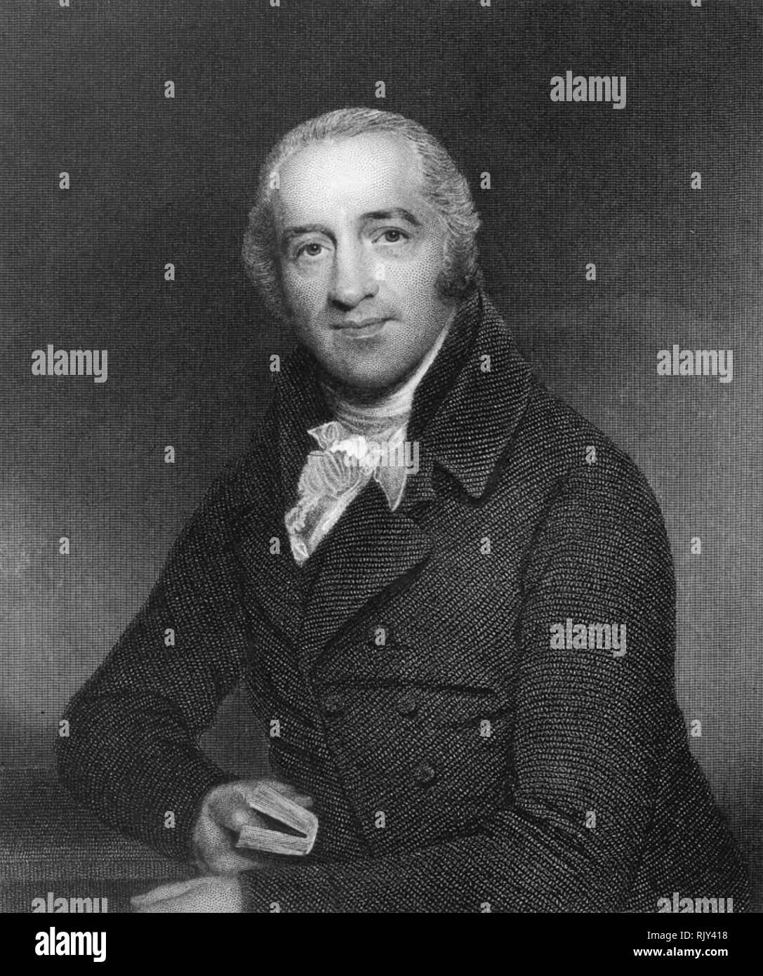 CHARLES SIMEON (1759-1836) English evangelical churchman - Stock Image