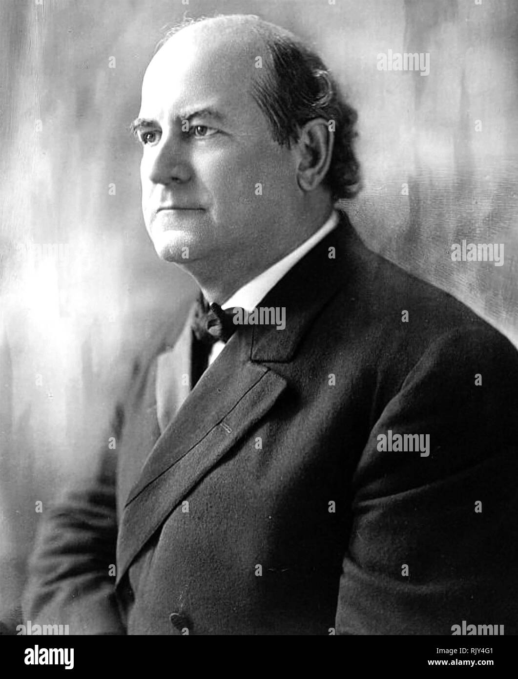 WILLIAM JENNINGS BRYAN (1860-1925) American Democratic politician - Stock Image