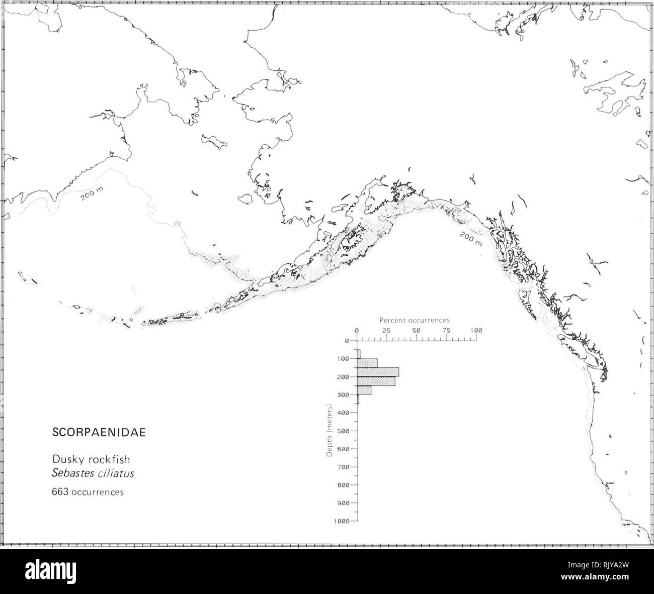 Atlas and zoogeography of common fishes in the Bering Sea