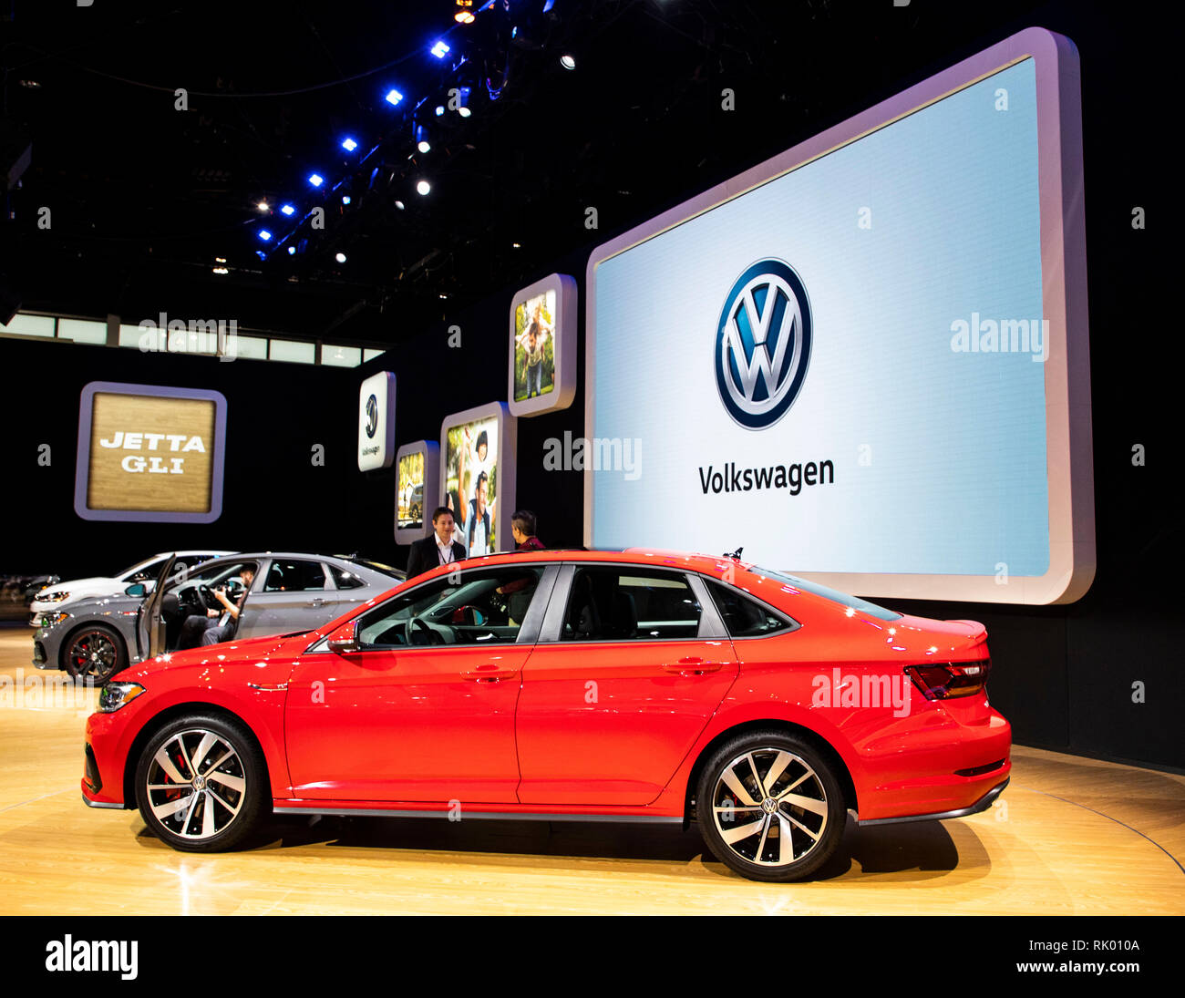 Chicago, USA. 7th Feb, 2019. The All New 2020 Volkswagen