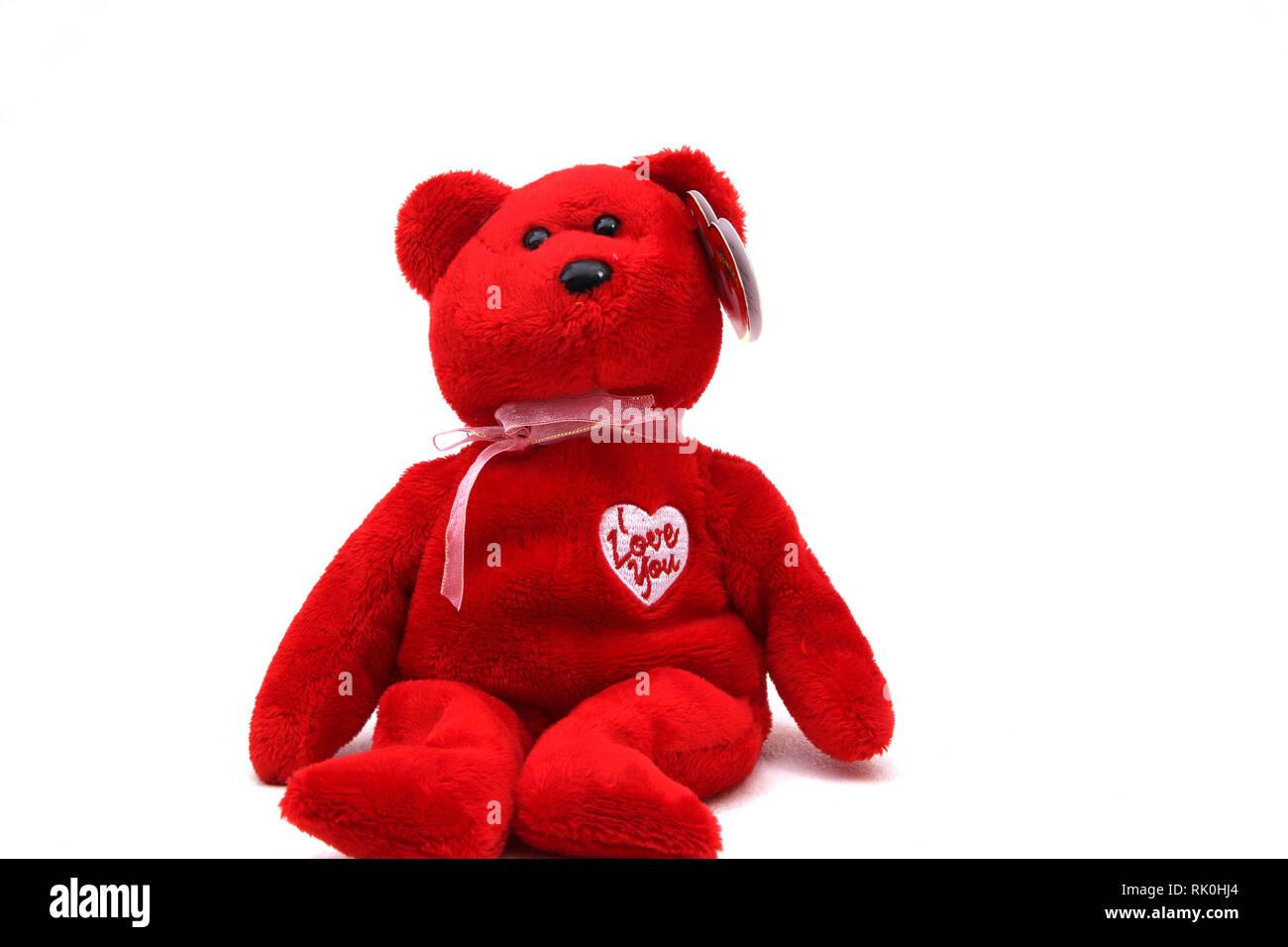 aa23d814780 Beanie Baby Bear Stock Photos   Beanie Baby Bear Stock Images - Alamy