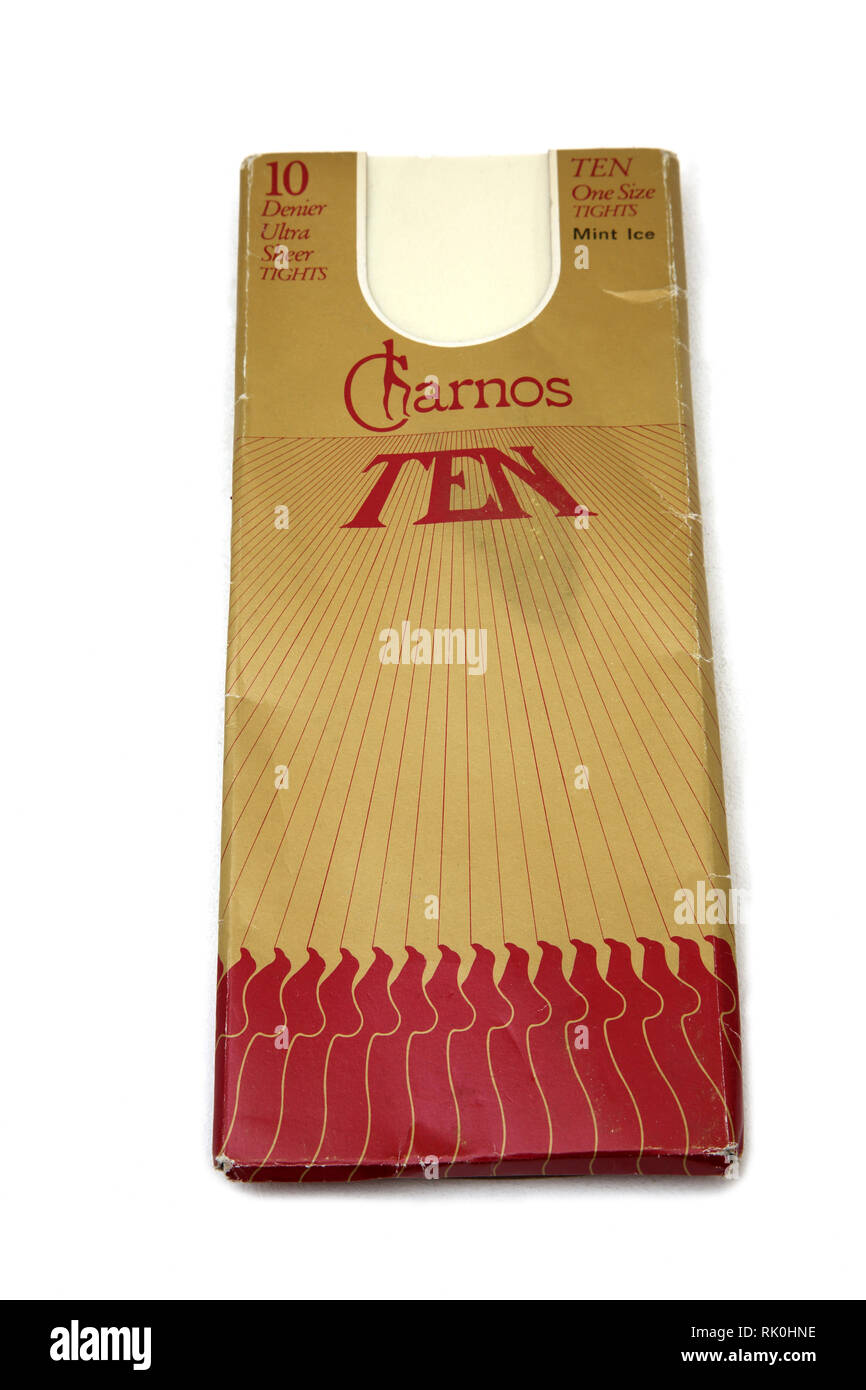 Charnos Ten 10 Denier Ultra Sheer Tights - Stock Image