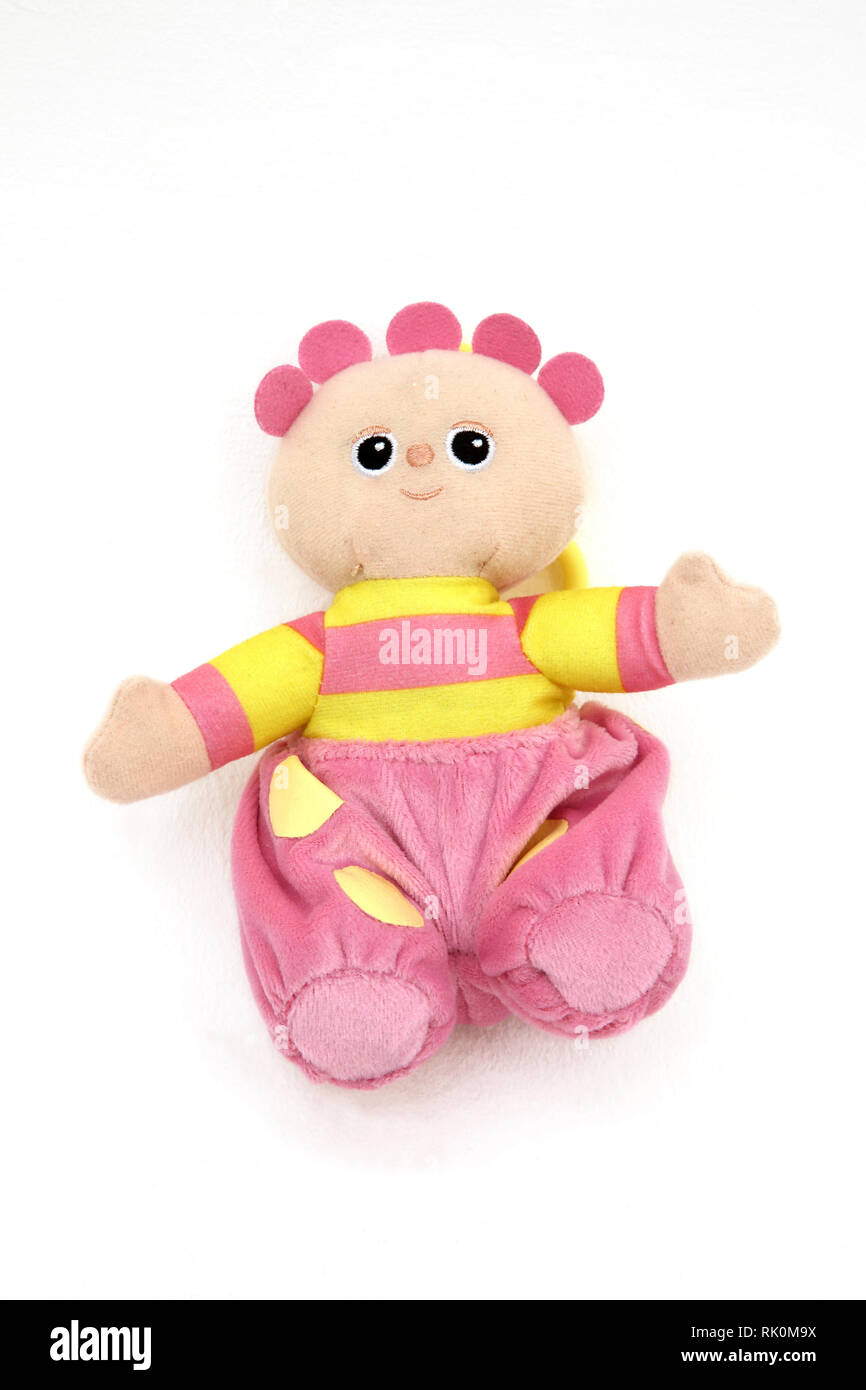 In the Night Garden Tombliboo Eee Character Soft Toy - Stock Image