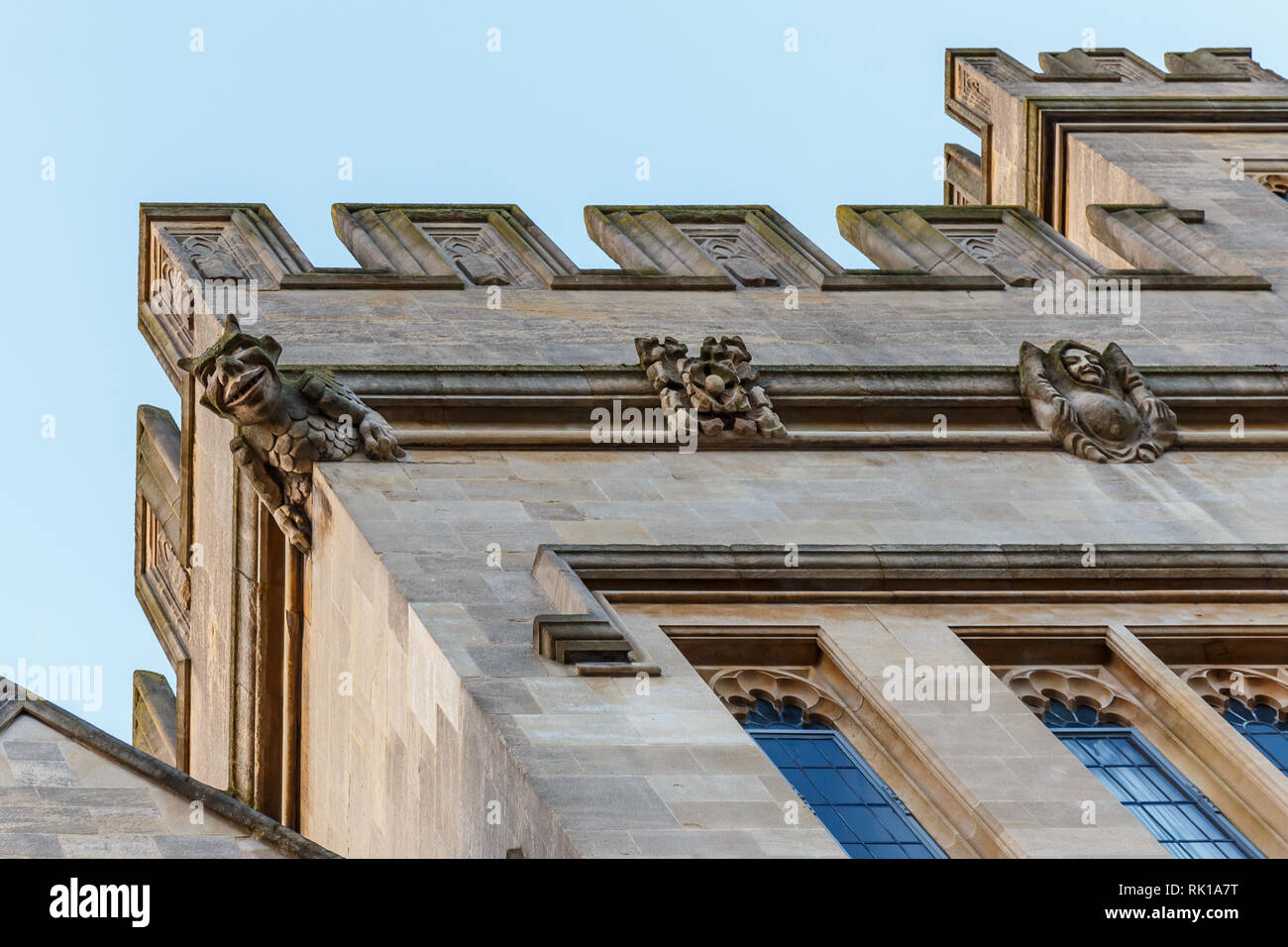 Oxford in spring, England - Stock Image