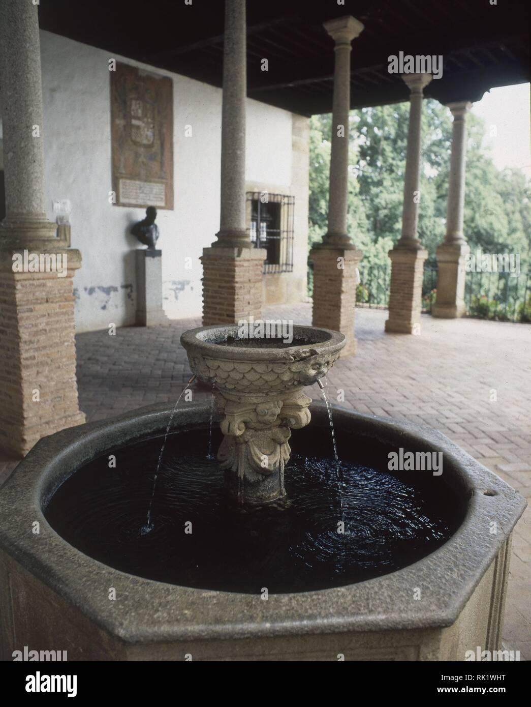 Terraza Del Palacio De Carlos V S Xvi Fuente De Piedra