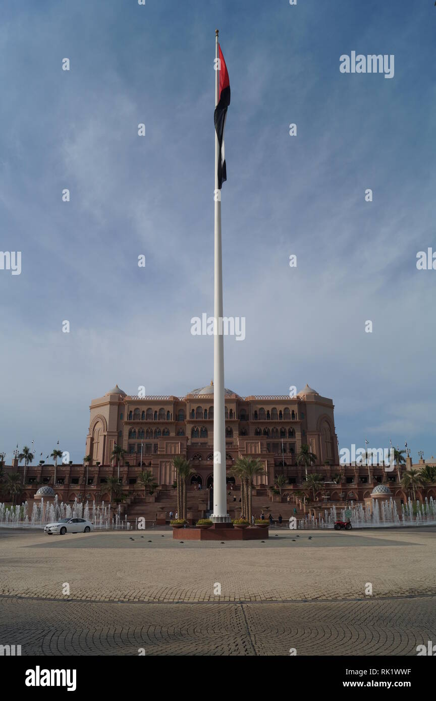 Day trip to Emirates Palace - Abu Dhabi - Stock Image