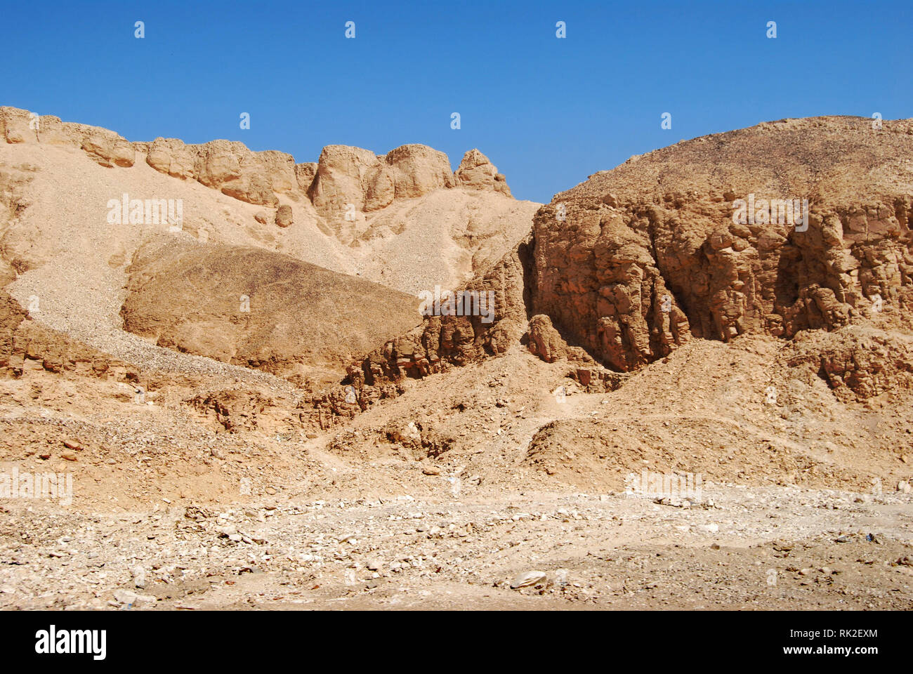 Valley of the Kings, Egypt - Stock Image