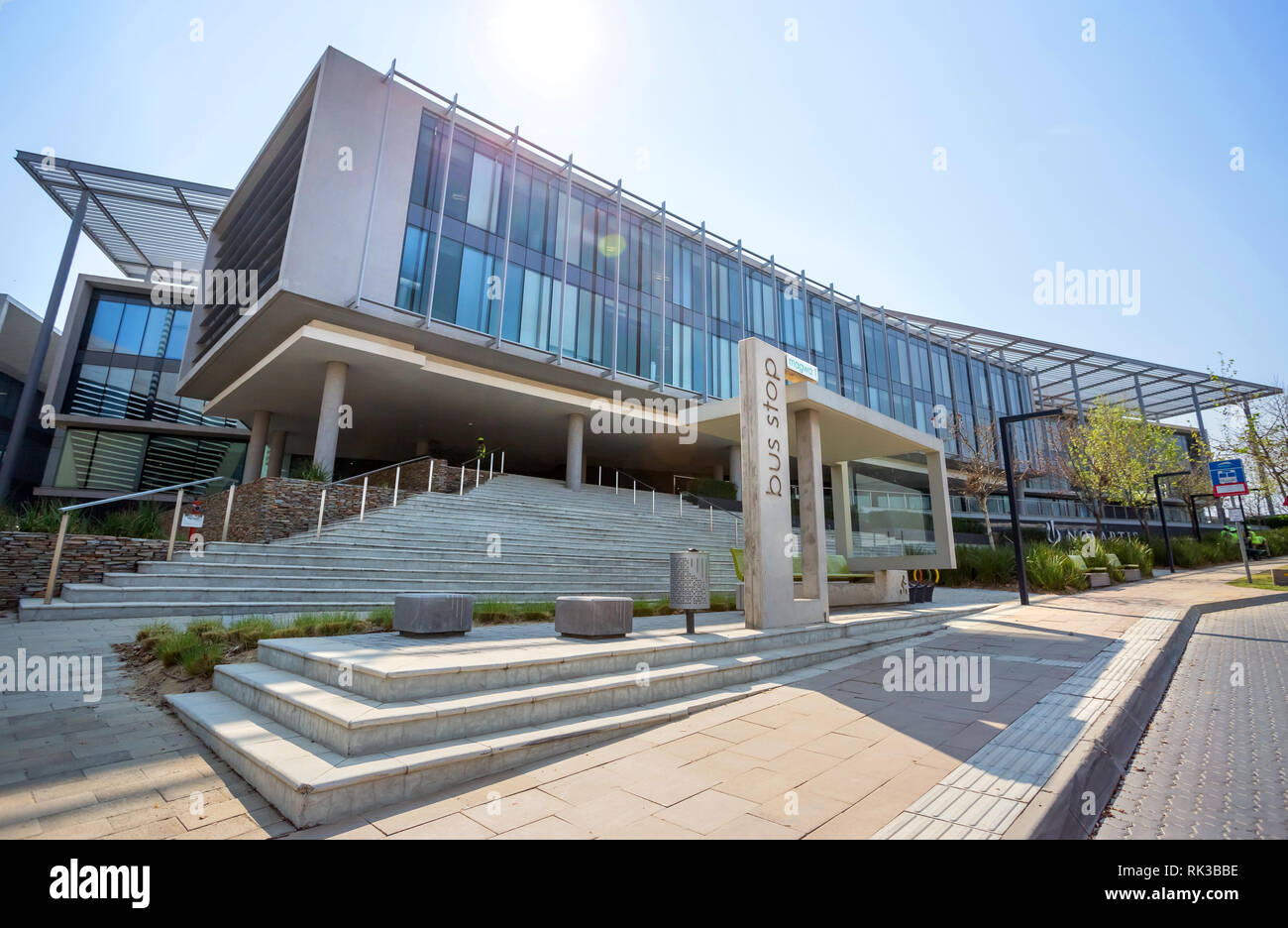 Glass exterior modern office Aluminum Storefront Johannesburg South Africa 22 August 2018 Modern Office Building With Concrete And Glass Exterior Alamy Johannesburg South Africa 22 August 2018 Modern Office Building