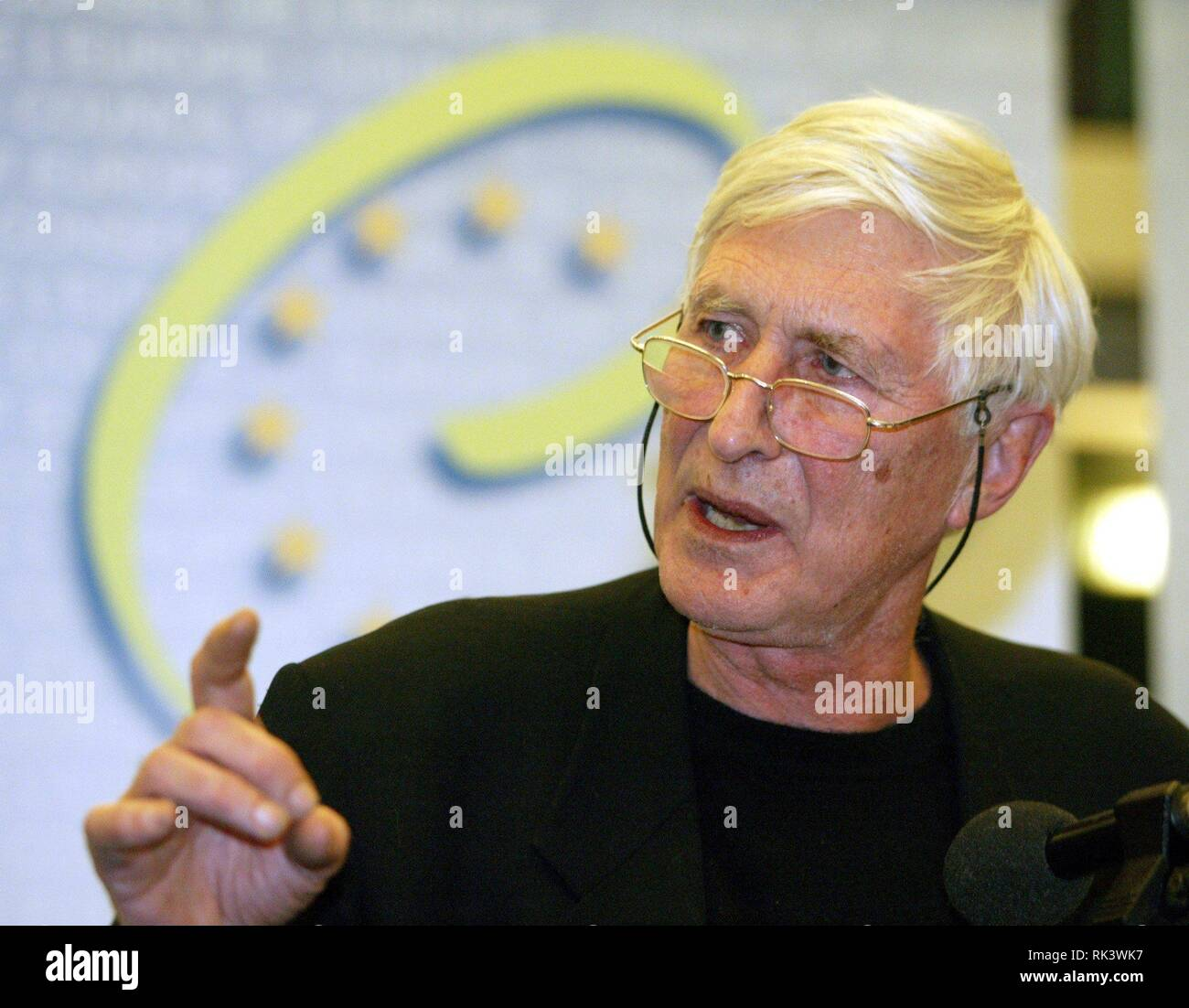 Strasbourg, France  28th Feb, 2003  (dpa) - Tomi Ungerer, French