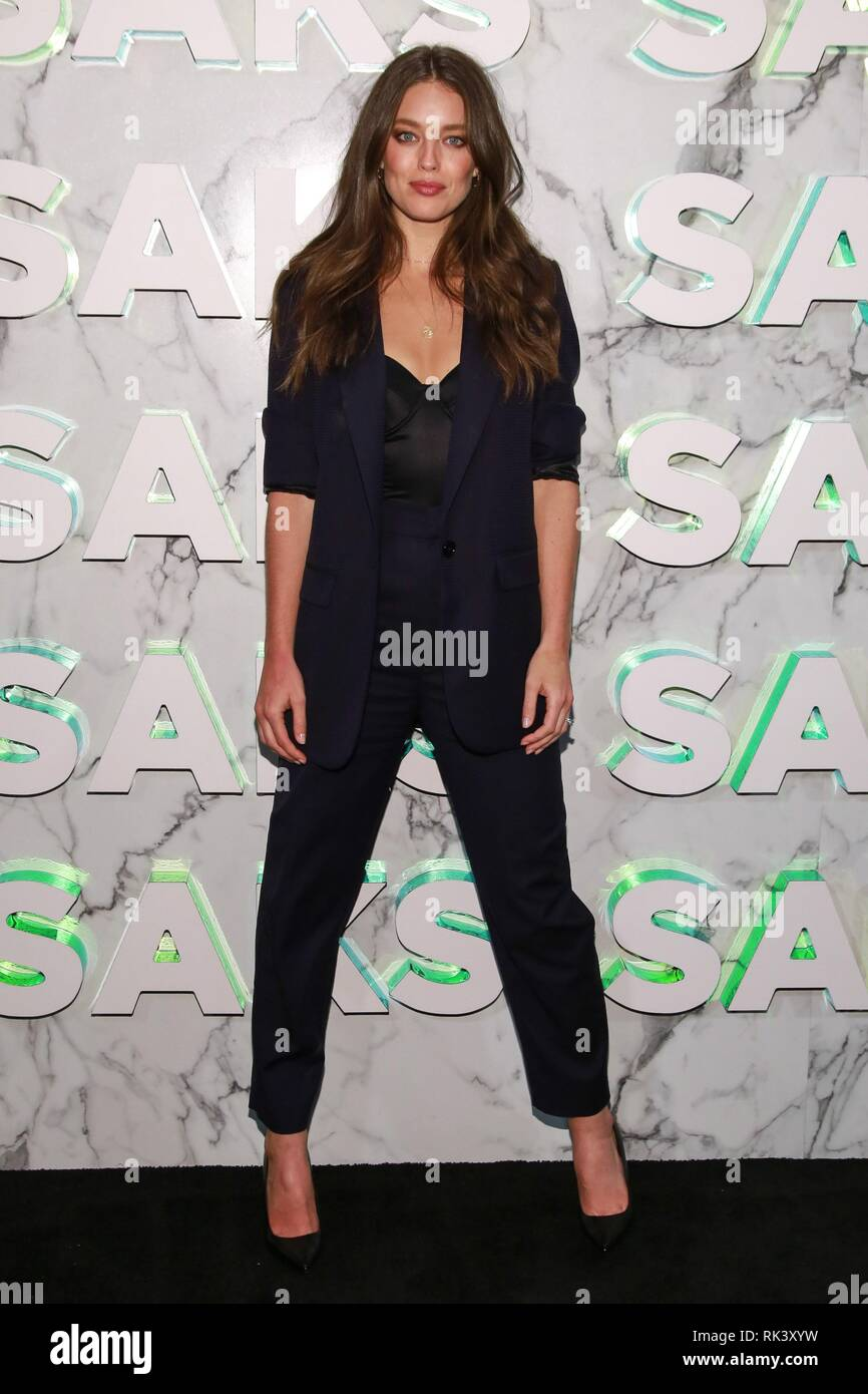 e74be211a5 Emily DiDonato at arrivals for ICONIC Saks Fifth Avenue New Main Floor  Opening