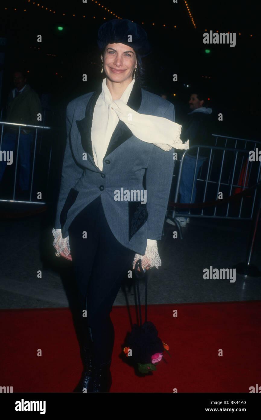 CENTURY CITY, CA - DECEMBER 15: Actress Hilary Shepard attends Warner Bros.  Pictures' 'Grumpy Old Men' Premiere on December 15, 1993 at Cineplex Odeon  ...