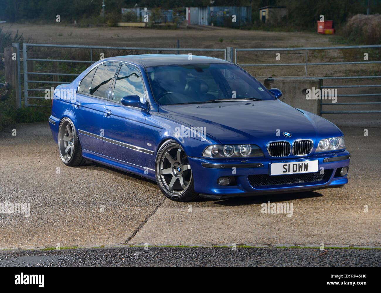 BMW E39 M5 >> Bmw E39 M5 Super Saloon Modern Classic German Car Stock