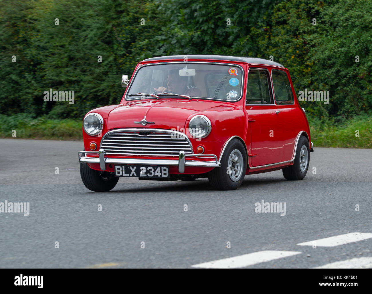 1964 Morris Mini Cooper S classic British car - Stock Image
