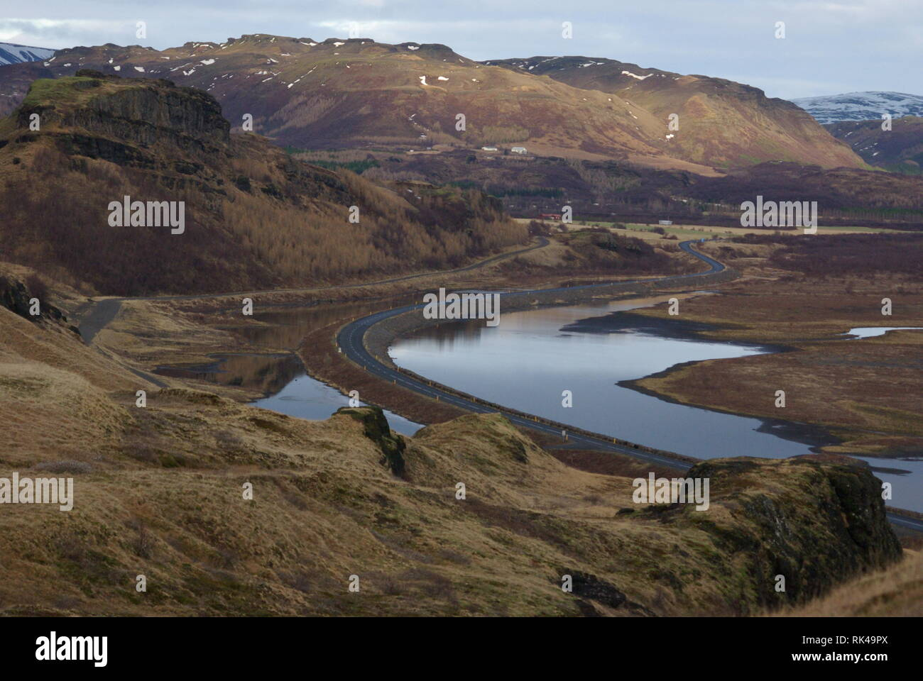 Islands Hochland - Stock Image