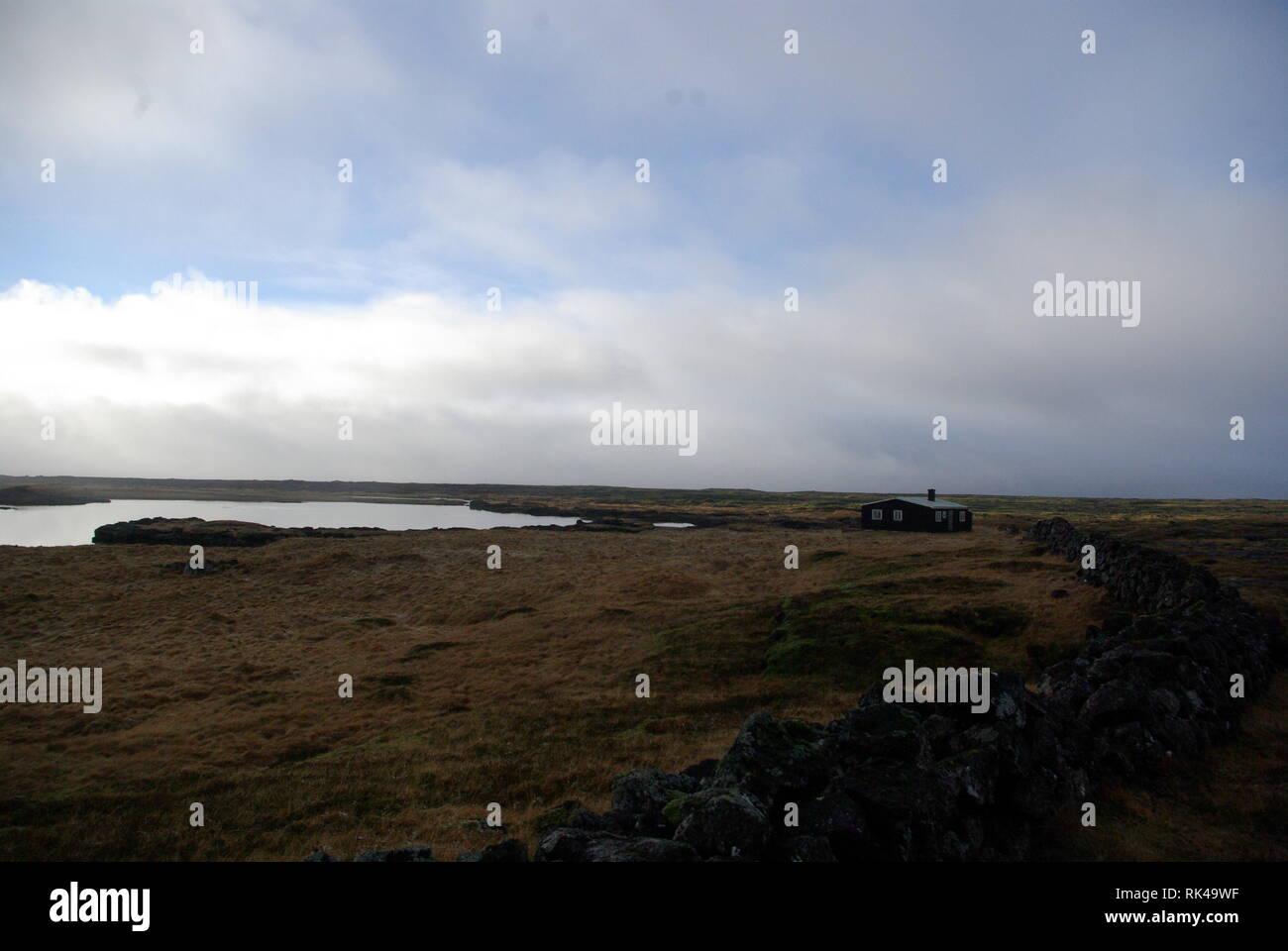 Landschaft auf Island - Stock Image