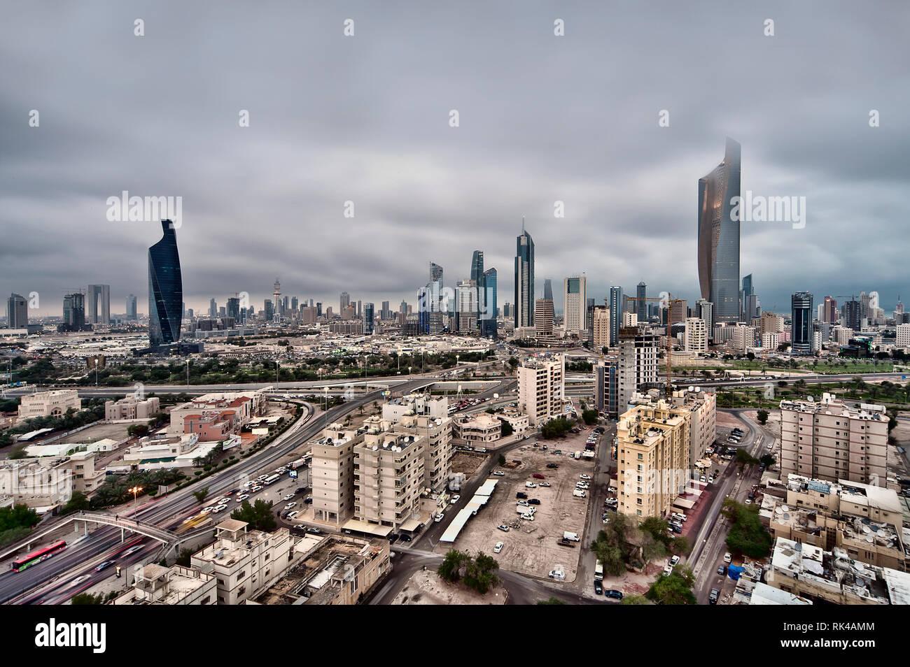 Kuwait City - Stock Image