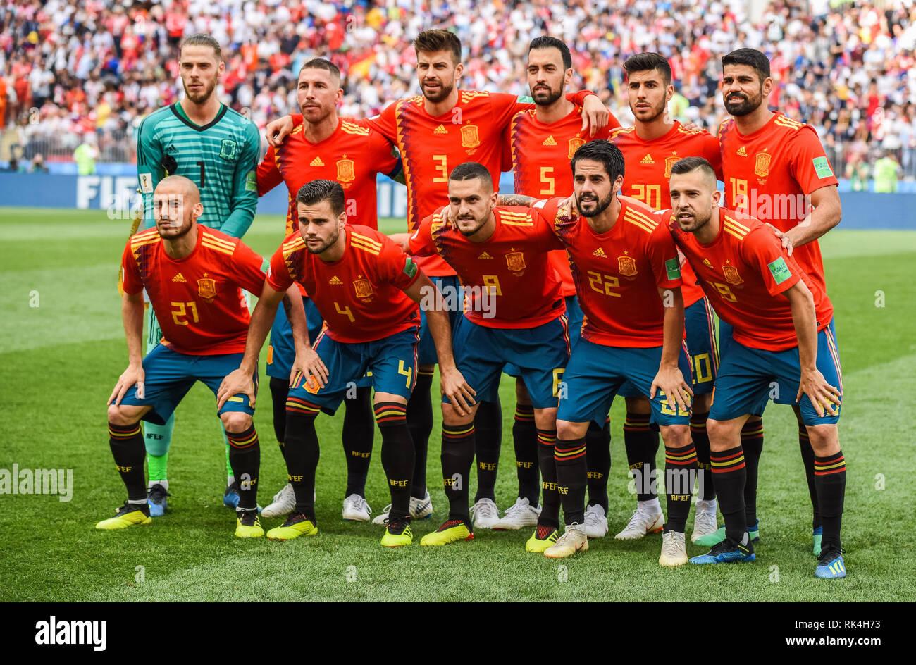 9803022c3af Spain National Team Stock Photos   Spain National Team Stock Images ...