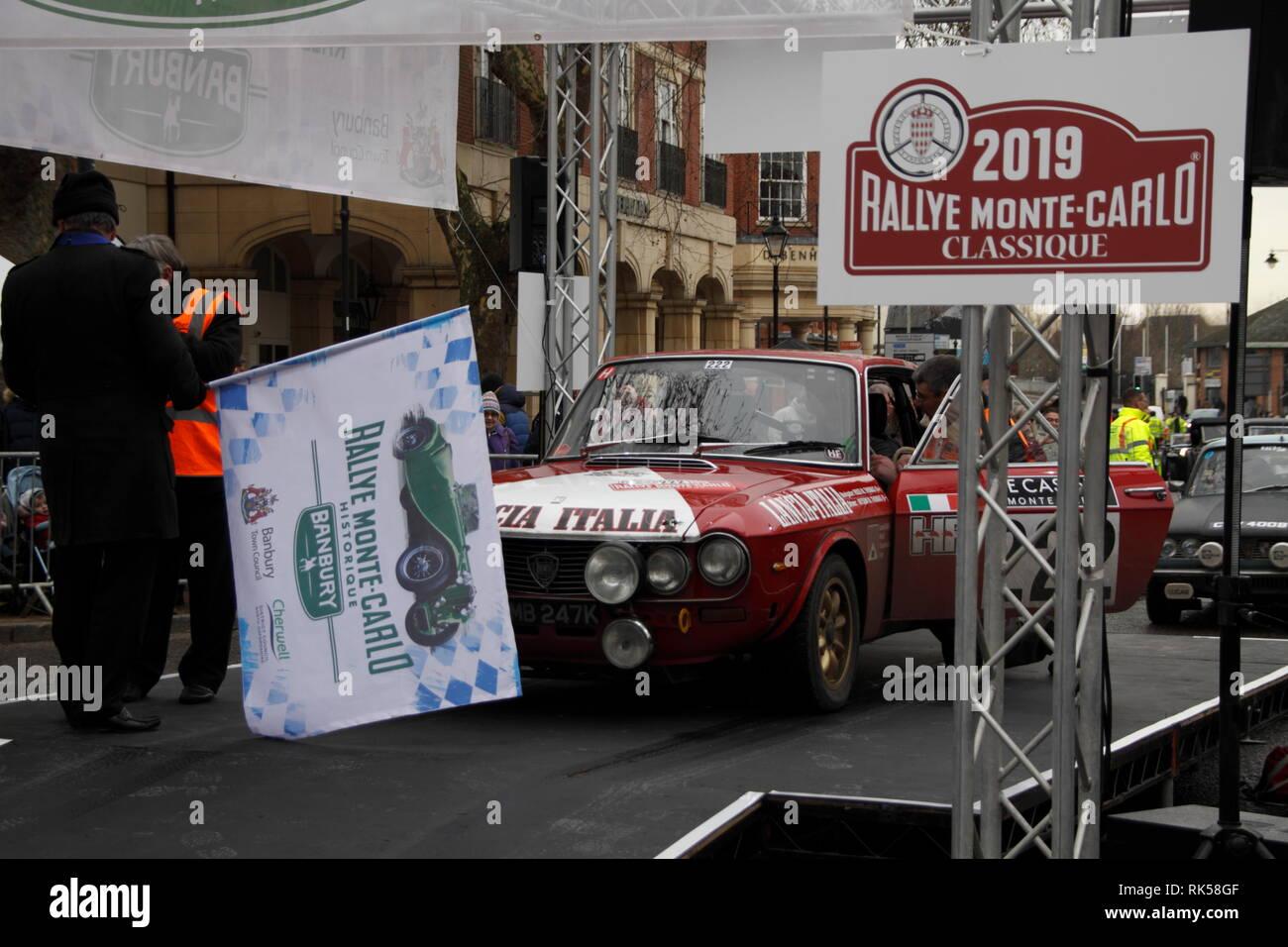 Monte Carlo Rally Banbury 2019 Stock Photo