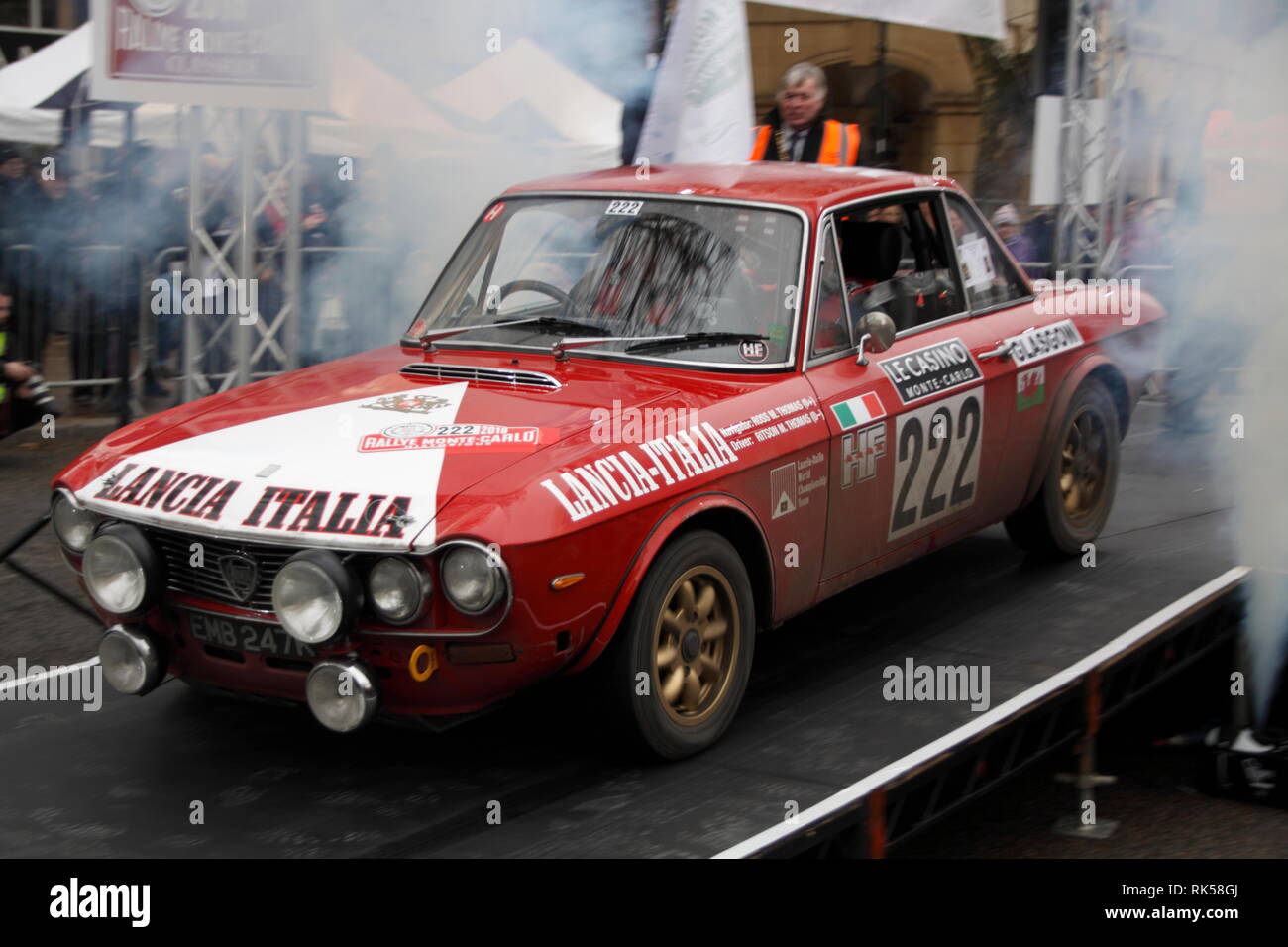 Monte Carlo Rally Banbury 2019 - Stock Image