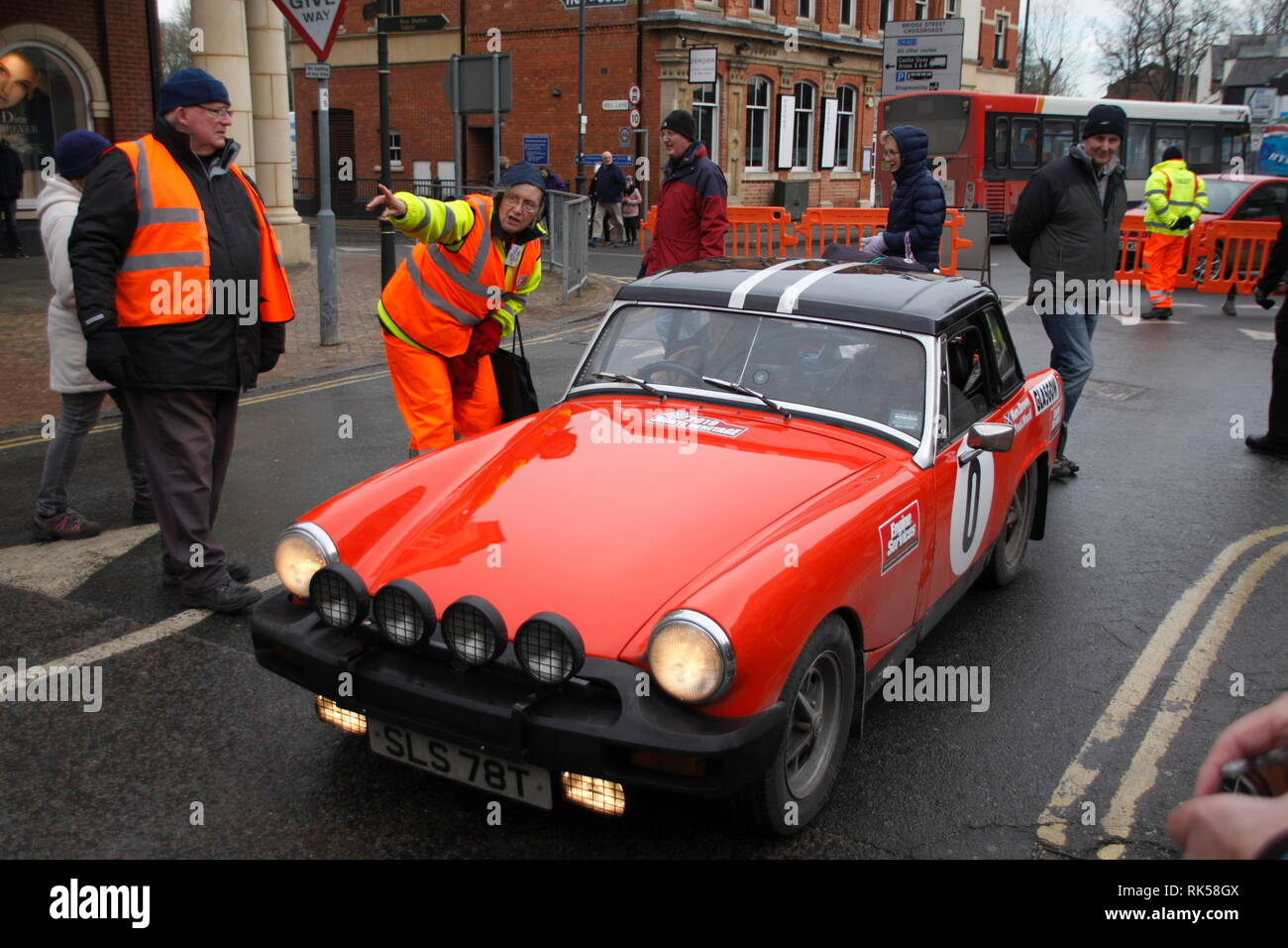 Monte Carlo Rally Banbury 2019 Stock Photo