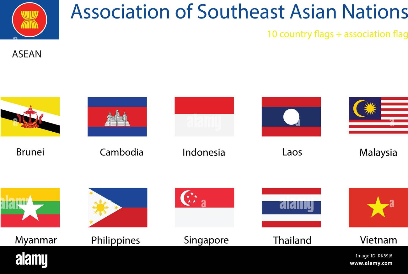 asian southeast of of nations Countries association the