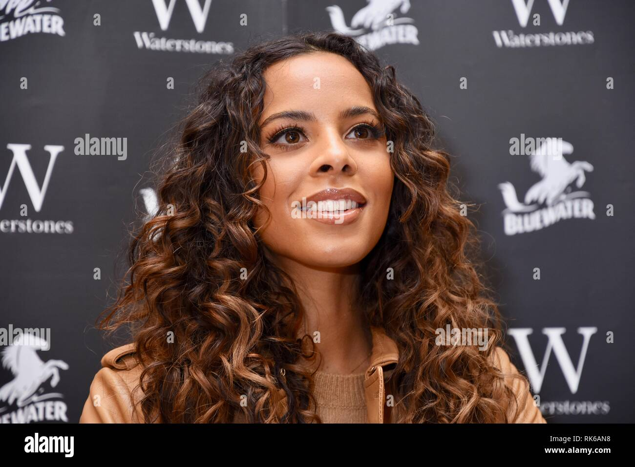 09th Feb, 2019. Rochelle Humes, Signing of 'The Mega Magic Hair Swap', Waterstones, Bluewater,Greenhithe,Kent.UK Credit: michael melia/Alamy Live News - Stock Image