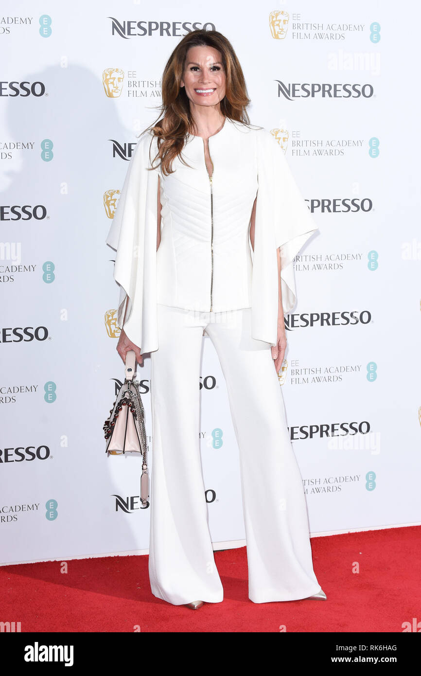 London, UK. February 09, 2019: Isabell Kristensen arriving for the 2019 BAFTA Film Awards Nominees Party at Kensington Palace, London. Picture: Steve Vas/Featureflash Credit: Paul Smith/Alamy Live News - Stock Image