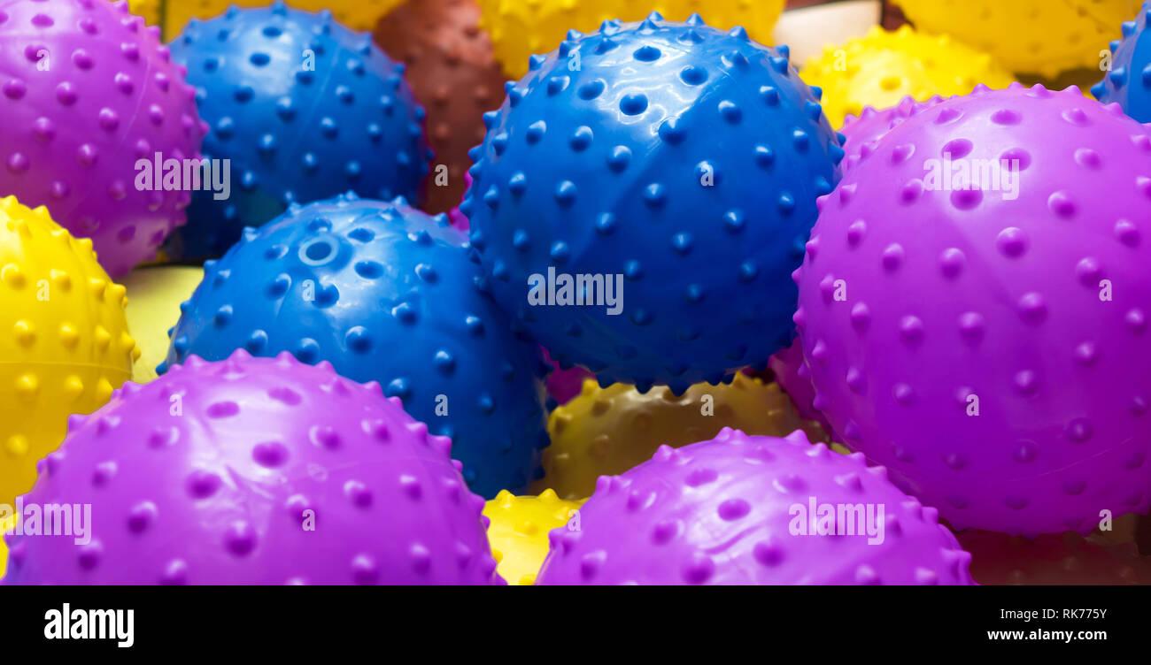 Plastic balls - Stock Image