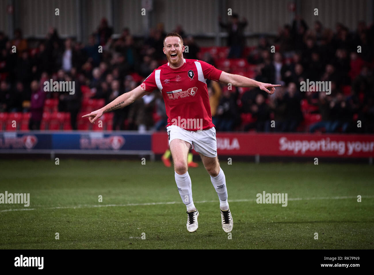 Adam Rooney. Salford City FC. - Stock Image