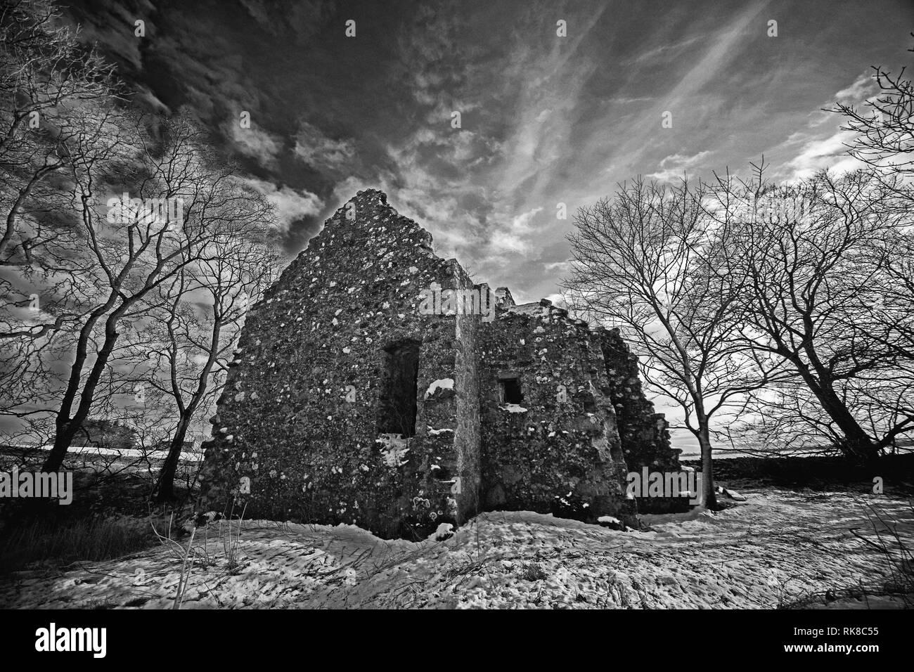 Esslemont Castle - Stock Image