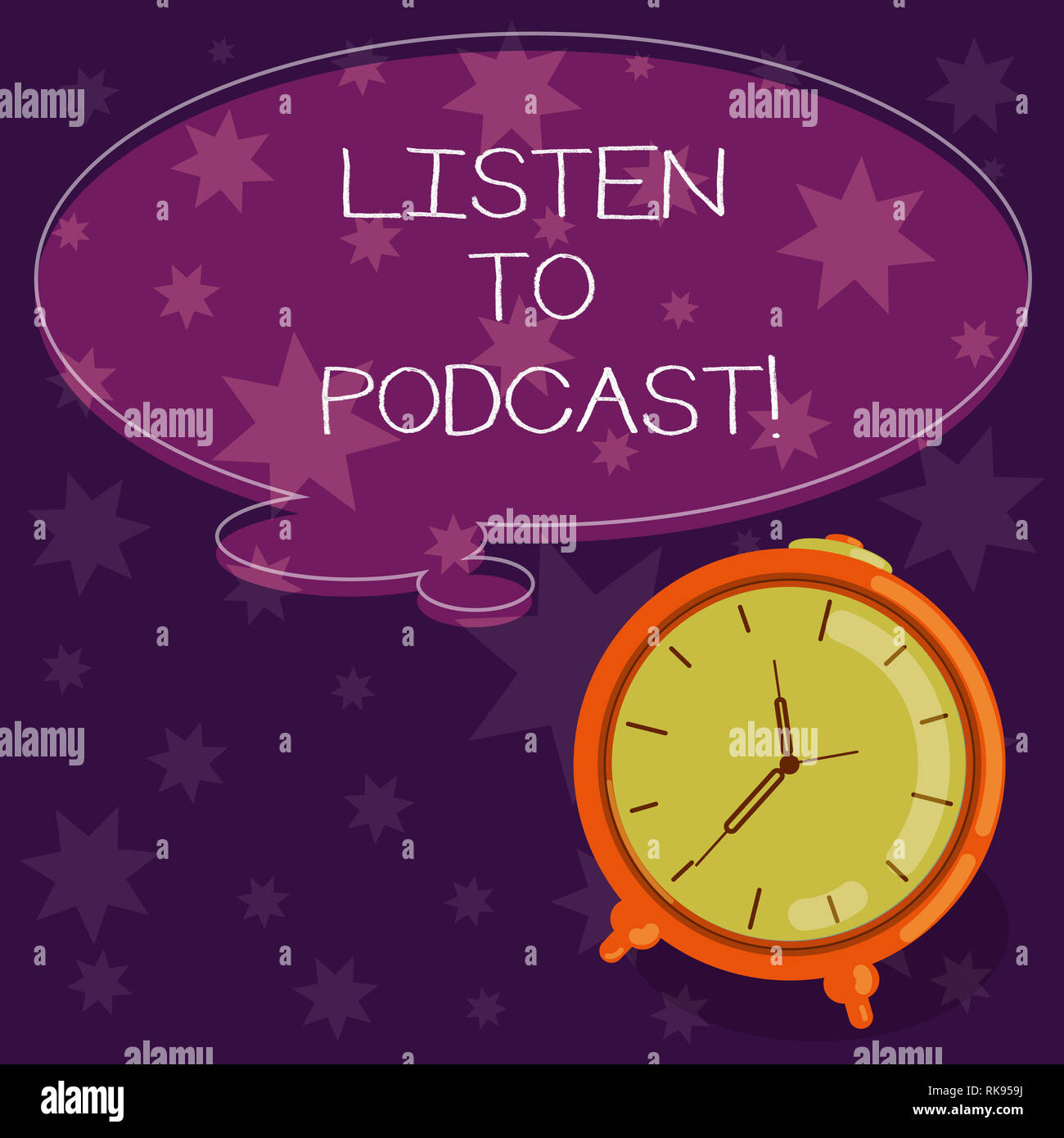 Word writing text Listen To Podcast  Business concept for series of