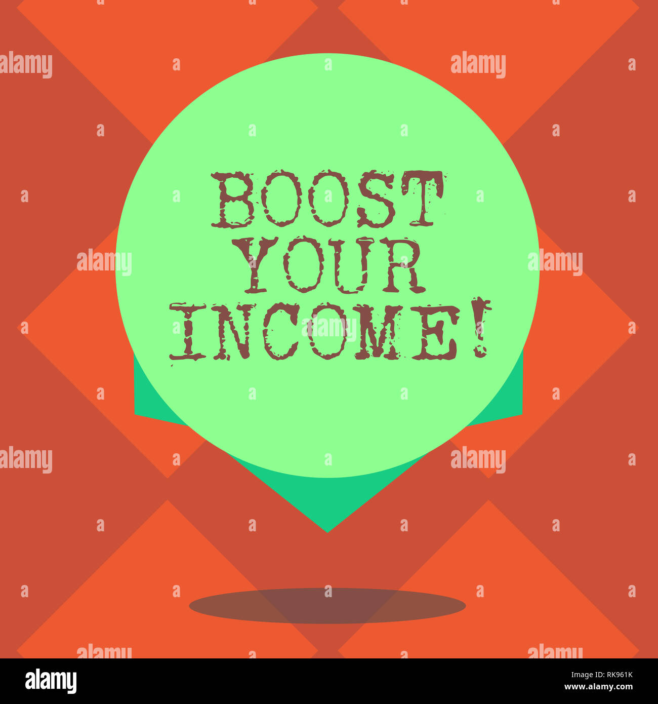 Handwriting text writing Boost Your Income  Concept meaning