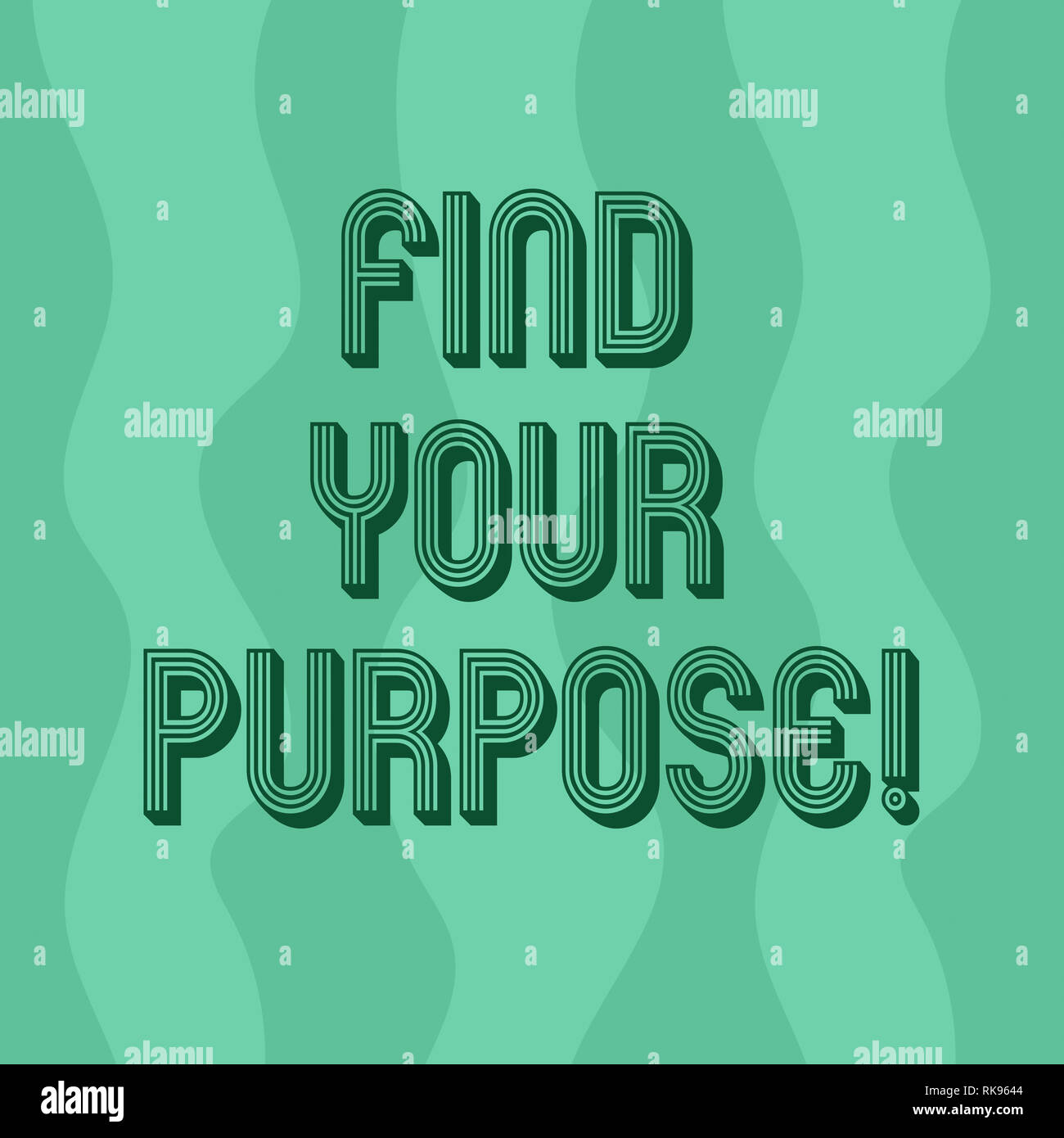 Handwriting Text Writing Find Your Purpose Concept Meaning