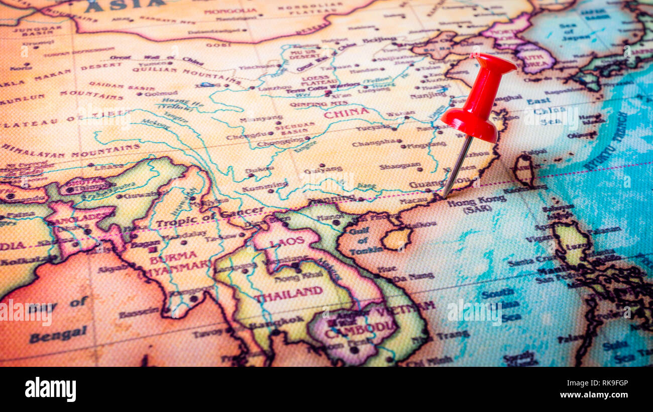 Political Map Asia Stock Photos & Political Map Asia Stock Images ...
