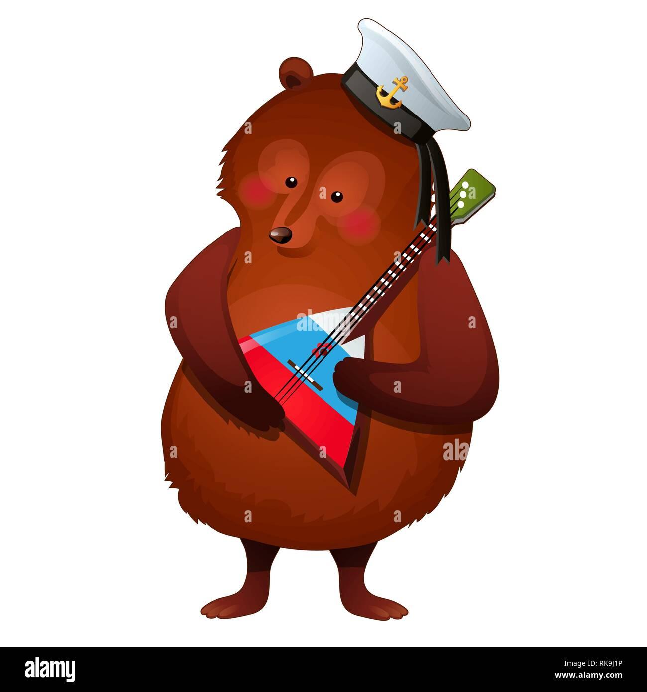 62c37f531 Russian Bear Cartoon Stock Photos & Russian Bear Cartoon Stock ...