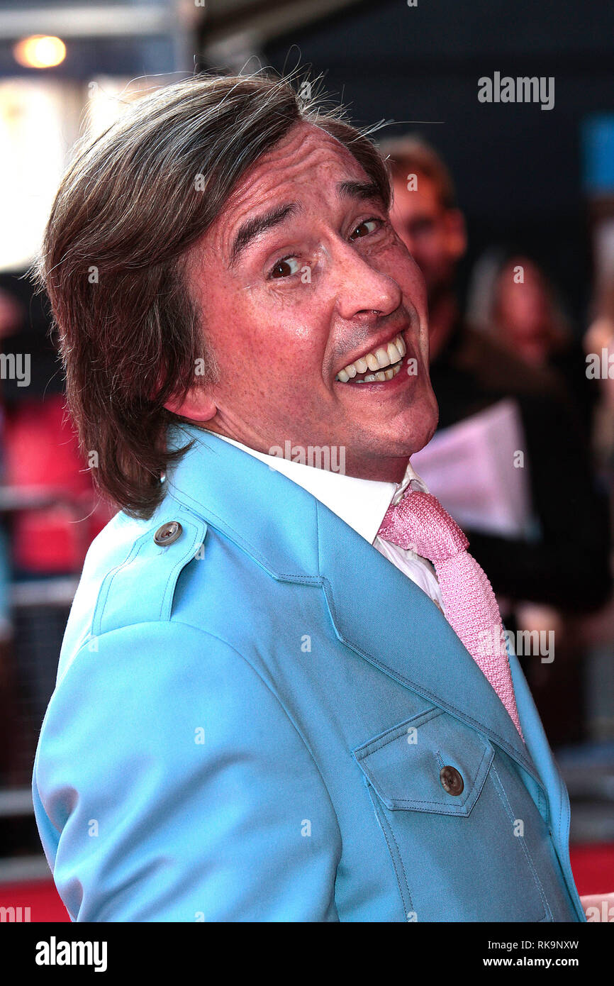 24th July 2013 - Alpha Papa World Premiere, Vue Cinema, Leicester Square, London Photo Shows: Actor Steve Coogan arrives in character as Alan Partridg - Stock Image