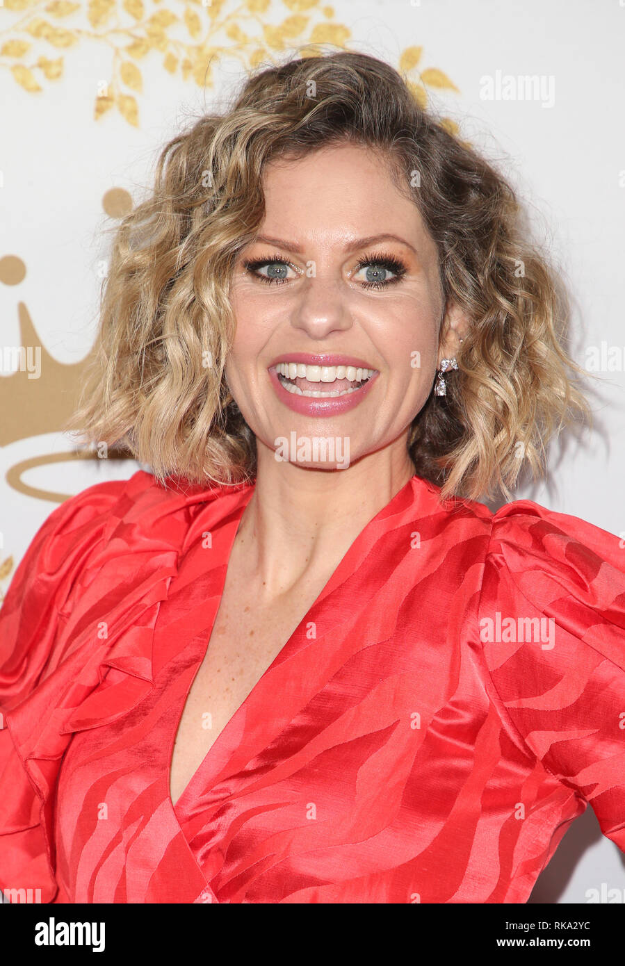 pasadena ca february 9 candace cameron bure at the hallmark channel and hallmark movies. Black Bedroom Furniture Sets. Home Design Ideas