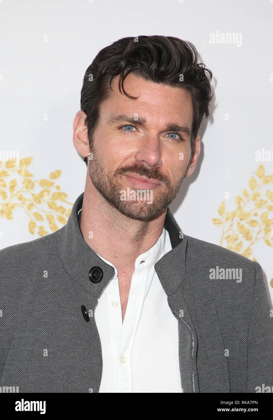 pasadena ca february 9 kevin mcgarry at the hallmark channel and hallmark movies. Black Bedroom Furniture Sets. Home Design Ideas